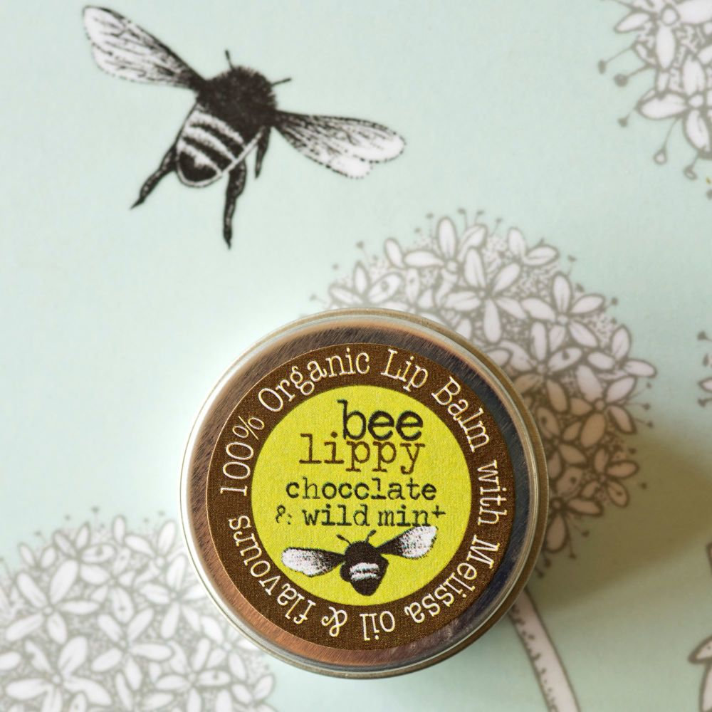 Beefayre Bee Lippy Chocolate & Wild MInt Lip Balm