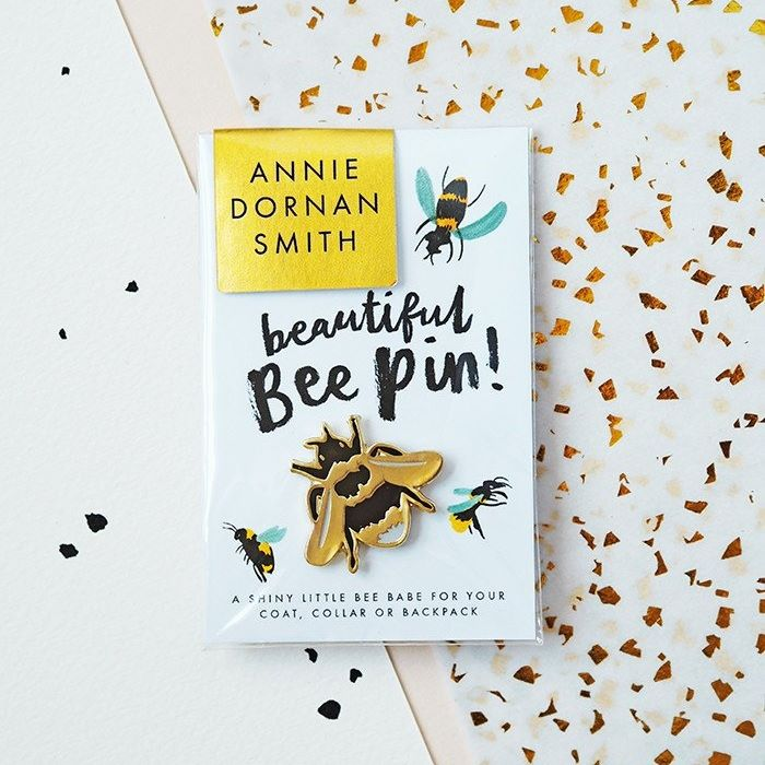 Bumblebee British Bee Pin