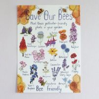 Print - Save our Bees - Bee Friendly Plants