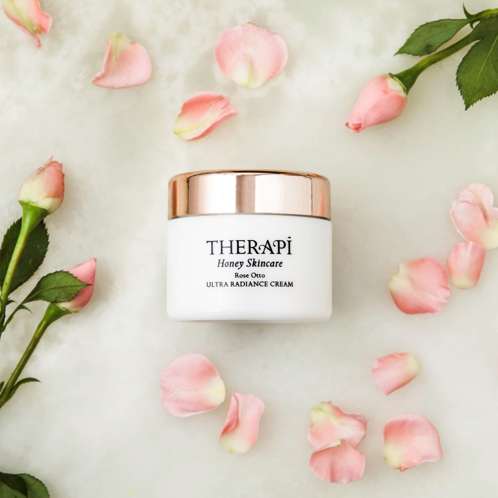Therapi Honey Skincare Rose Otto Ultra Radiance Propolis Cream