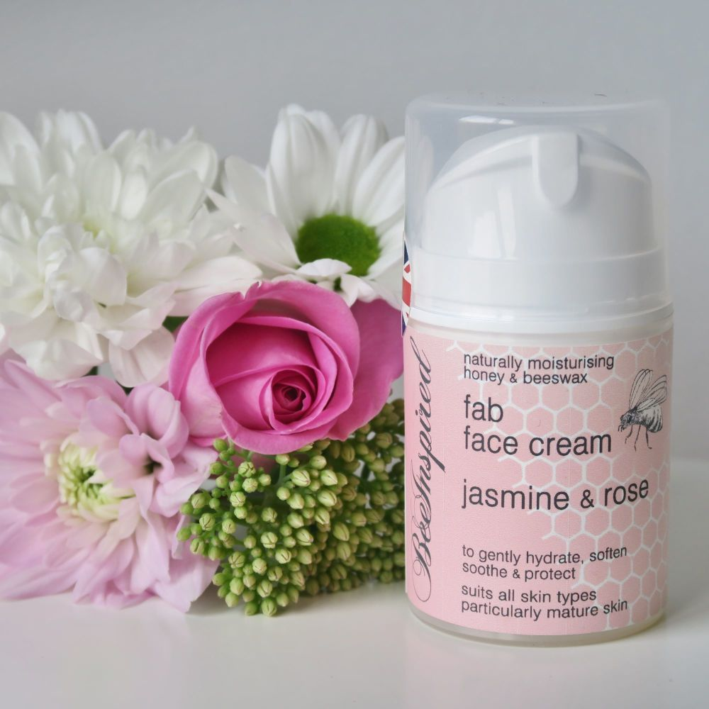 BeeInspired Jasmine & Rose Fab Face Cream