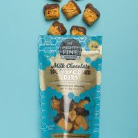 Mighty Fine Chocolate Honeycomb Dips