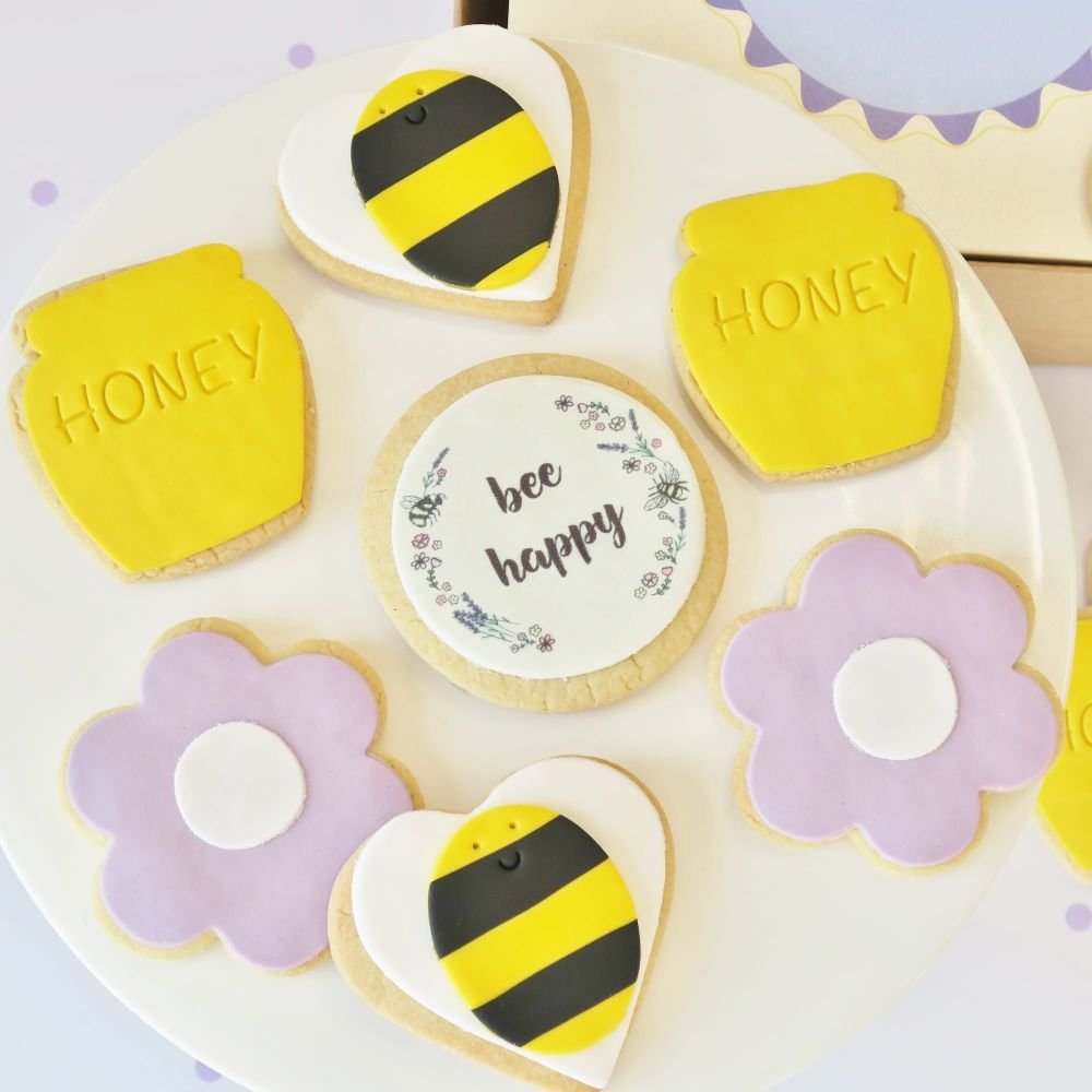 Bee Theme Cookie Box