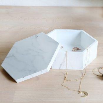 Hexagon Trinket Box