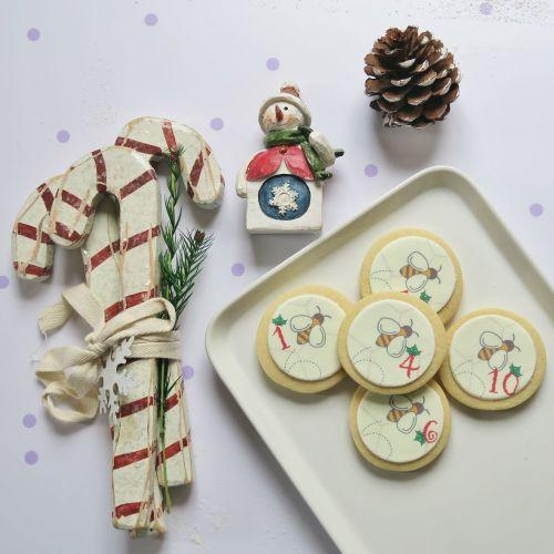 12 Days of Christmas Cookies Calendar