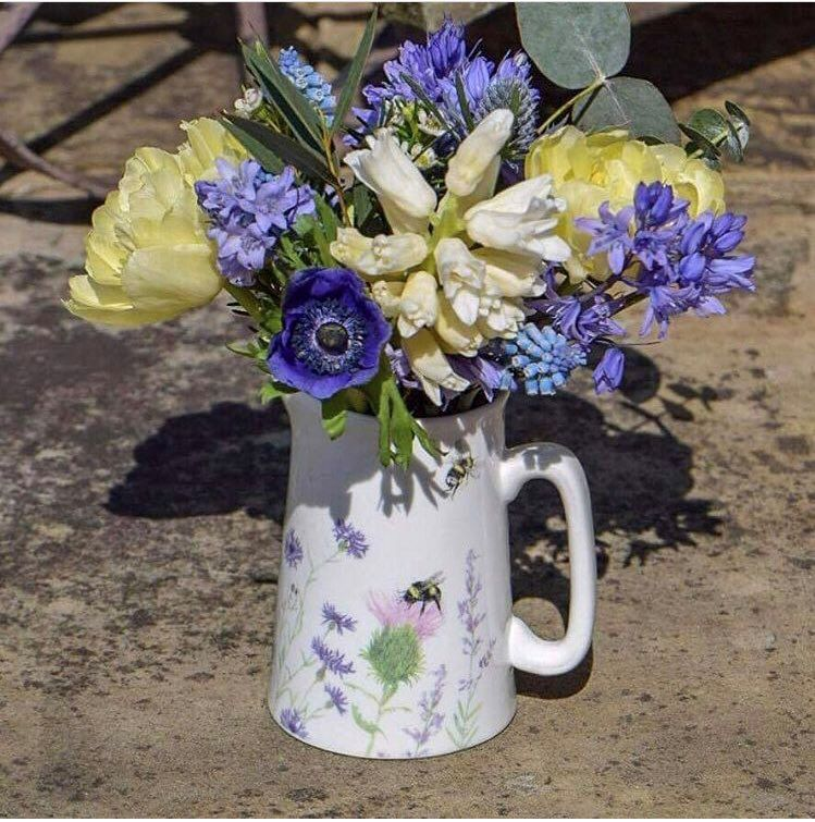 Wildflower & Bee Jug