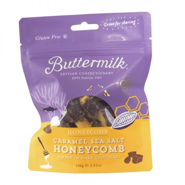 Buttermilk Caramel Sea Salt Honeycomb