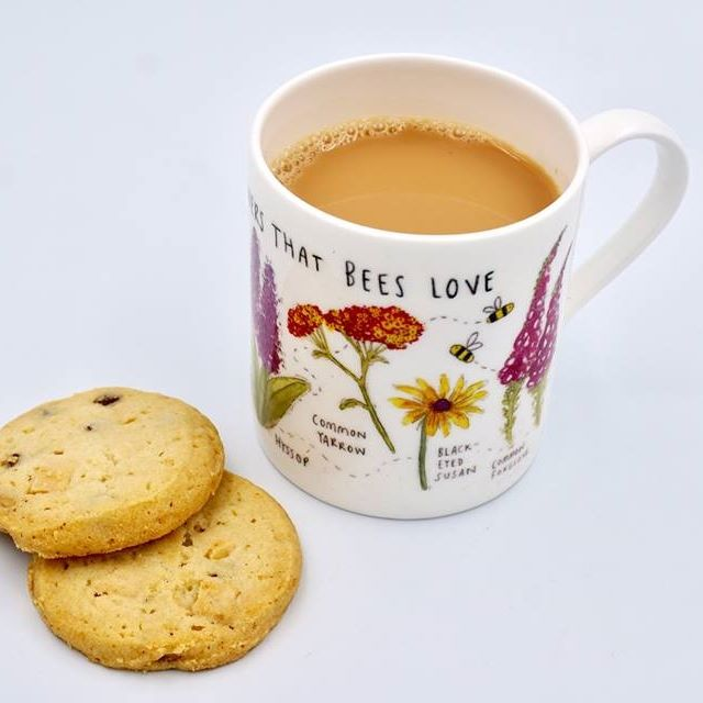 Flowers Bees Love Mug
