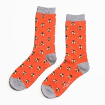 Bee Socks - Orange