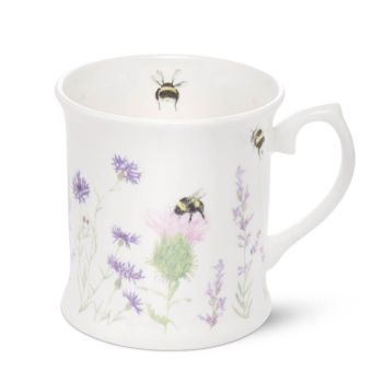 Bee Mug (Wildflower White)