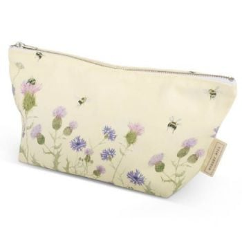 Wildflower & Bee Makeup Bag