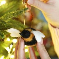 Felt Hanging Bee