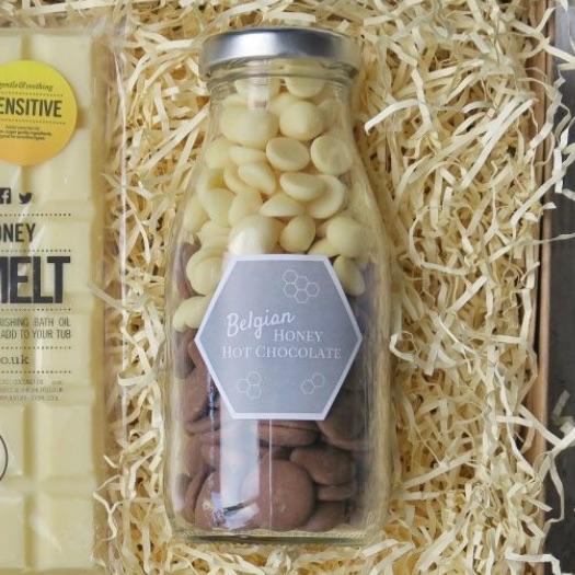 Belgian Honey Hot Chocolate