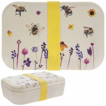 Busy Bees Bamboo Lunch Box