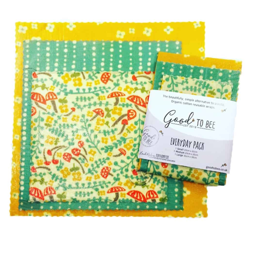 Beeswax Wraps - Everyday Pack