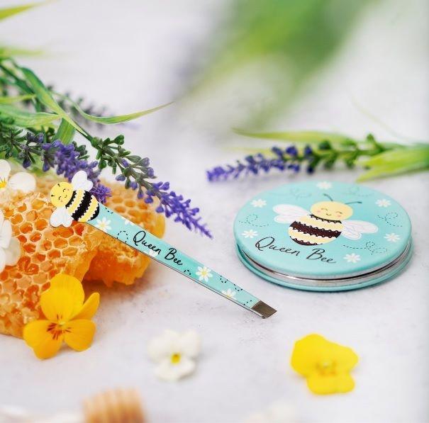 Queen Bee Compact Mirror