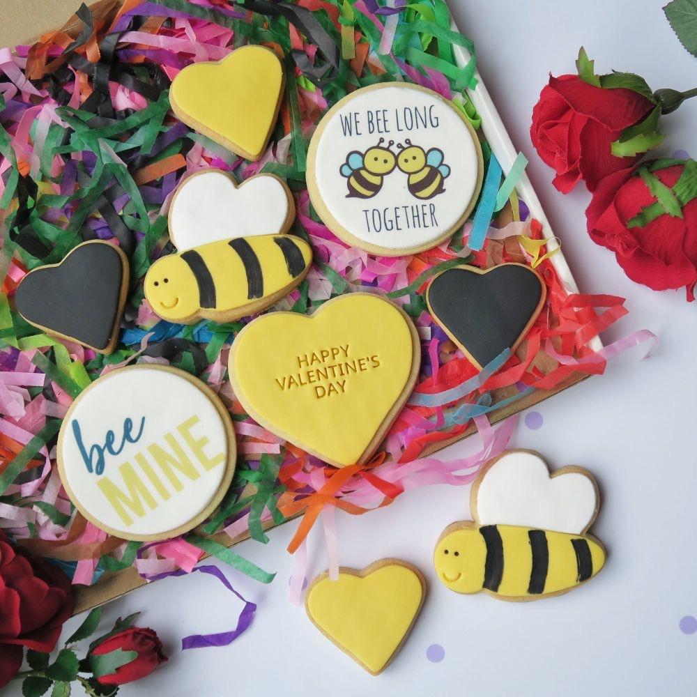 Valentine's Cookie Box