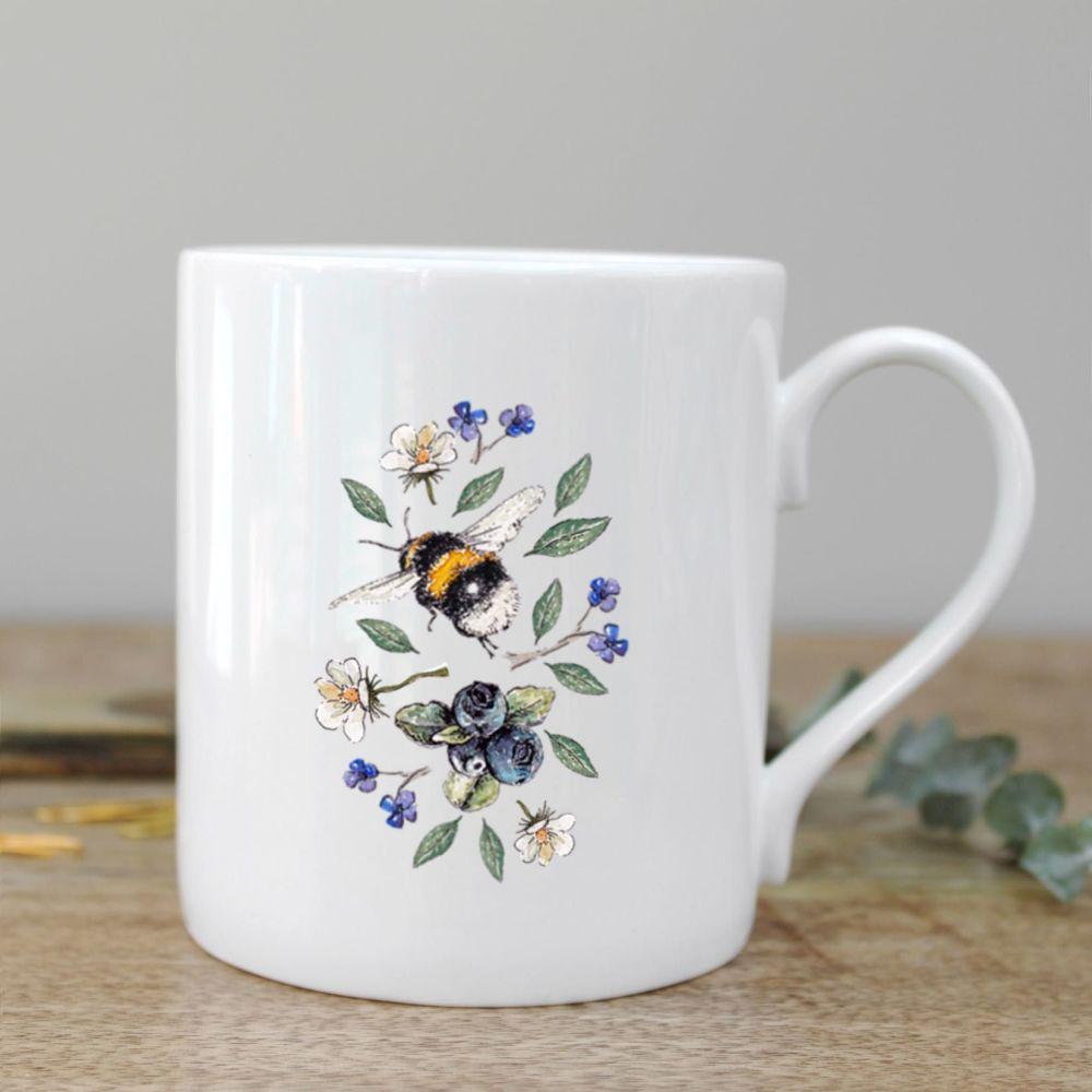 Wildflower Meadows Bee Mug