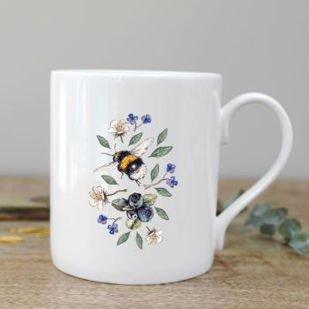 Wildflower Meadows Bee Mug