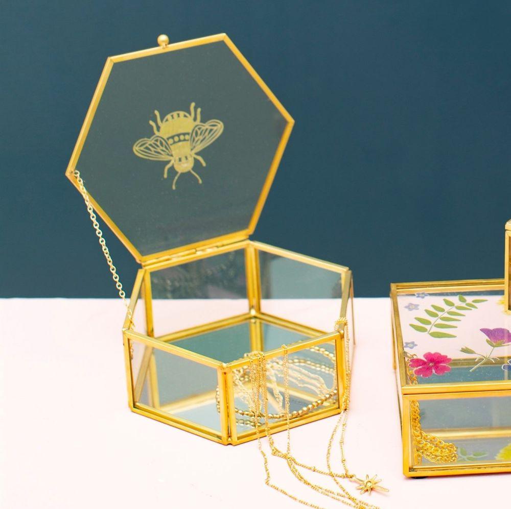 Bee Jewellery Box