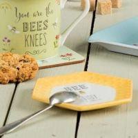 Bee Happy Teabag Tidy