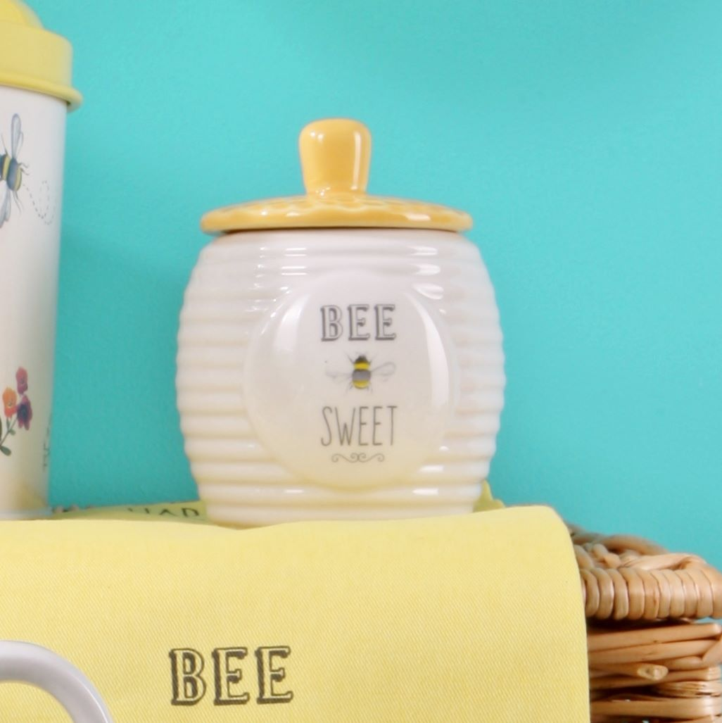 Bee Sweet Sugar Pot