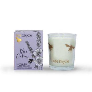 Lavender & Geranium Votive Candle