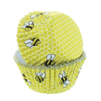 Bee Cupcake Cases