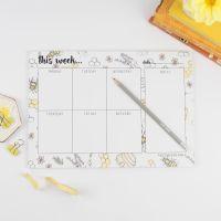 Bee Print Weekly Planner