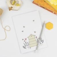 Floral Beehive Notebook