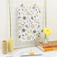 Honey & Bumble Print
