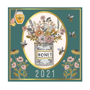2021 Beekeeper Wall Calendar