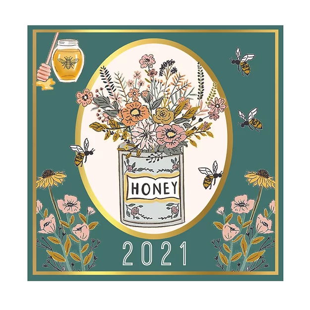 2021 Beekeeper Calendar Square
