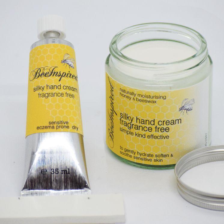 Bee Inspired Hand Cream - Fragrance Free