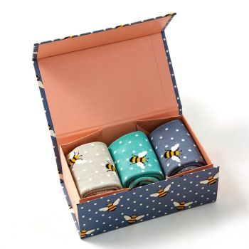 Bee Socks Gift Box