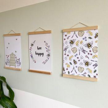 Bee Print Set