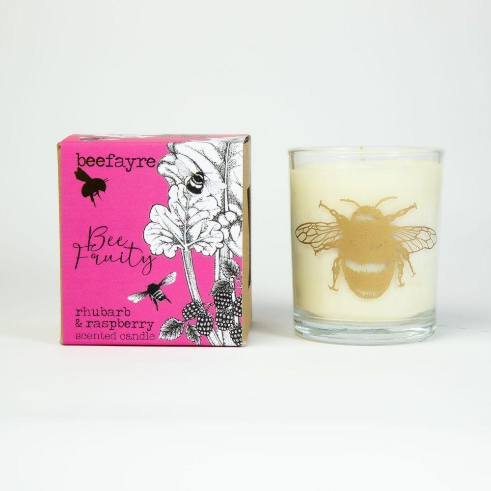 Rhubarb & Raspberry Candle