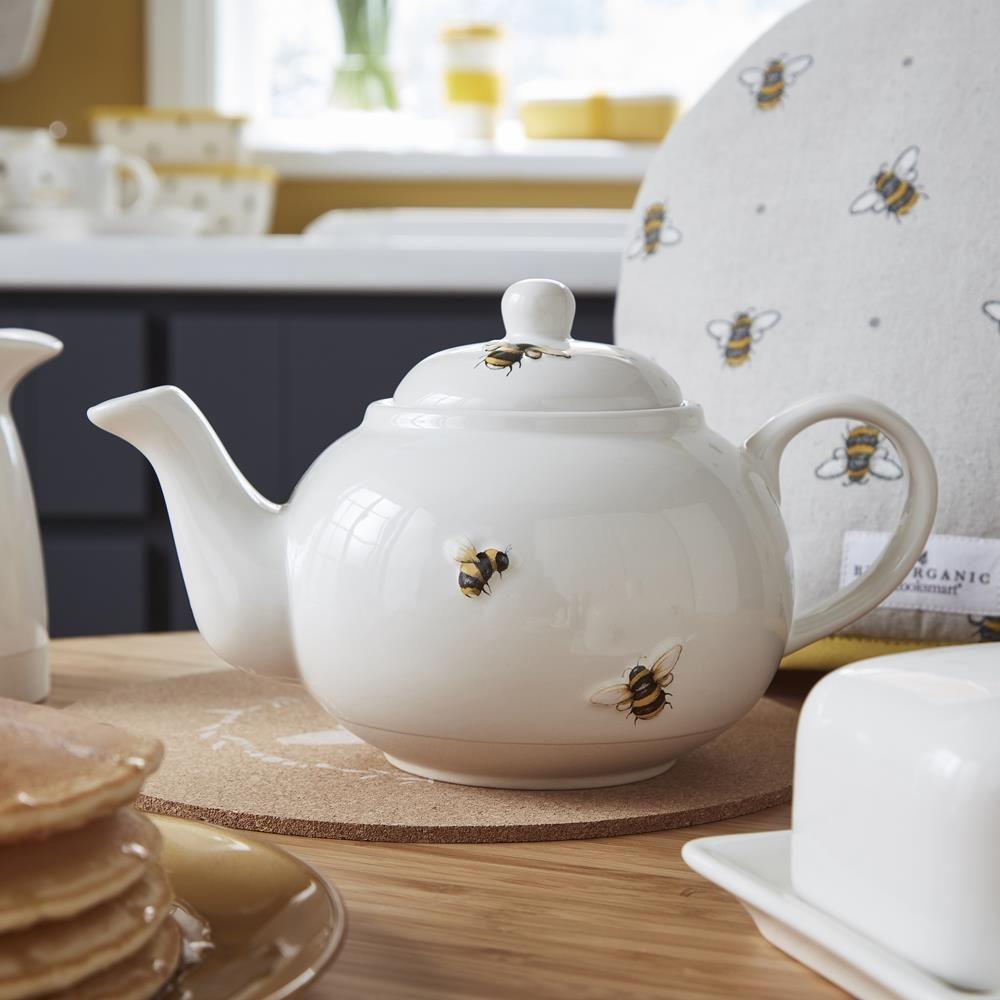 Bumble Bees Tea Pot