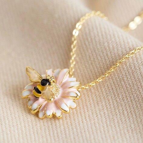 Daisy & Bee Necklace