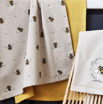 Bumble Bees Tea Towel Set