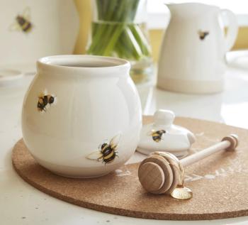Bumble Bees Honey Pot