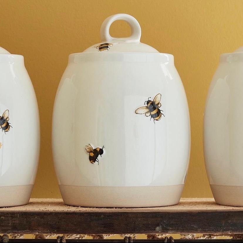 Bumble Bees Jar