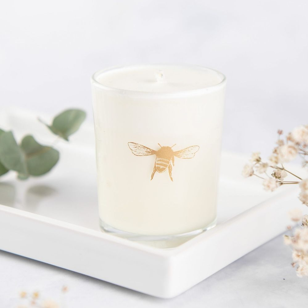 Honey Lily Votive Candle