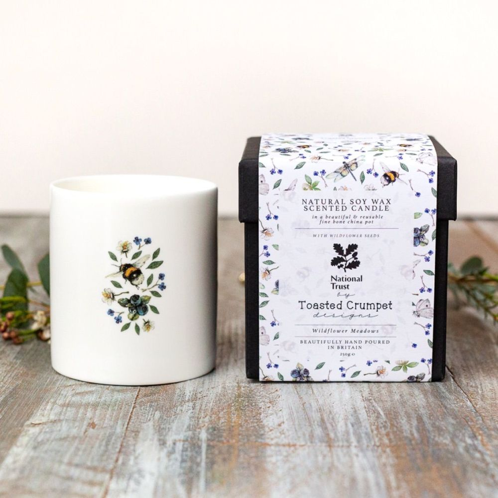 Wildflower Meadow Candle (China Pot)