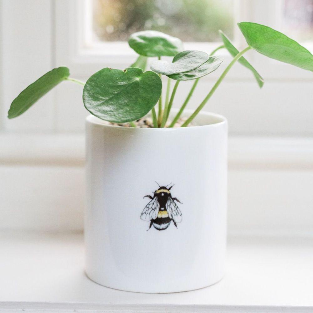 Bee China Pot