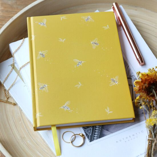 Bee Hardback Notebook