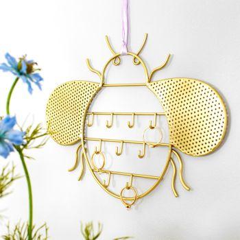 Gold Bee Jewellery Hanger