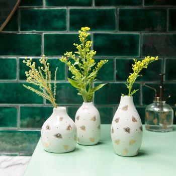 Queen Bee Bud Vases