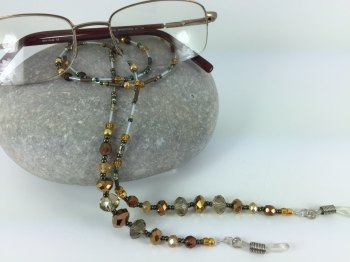 Bronze & Gold Tones Glasses Chain