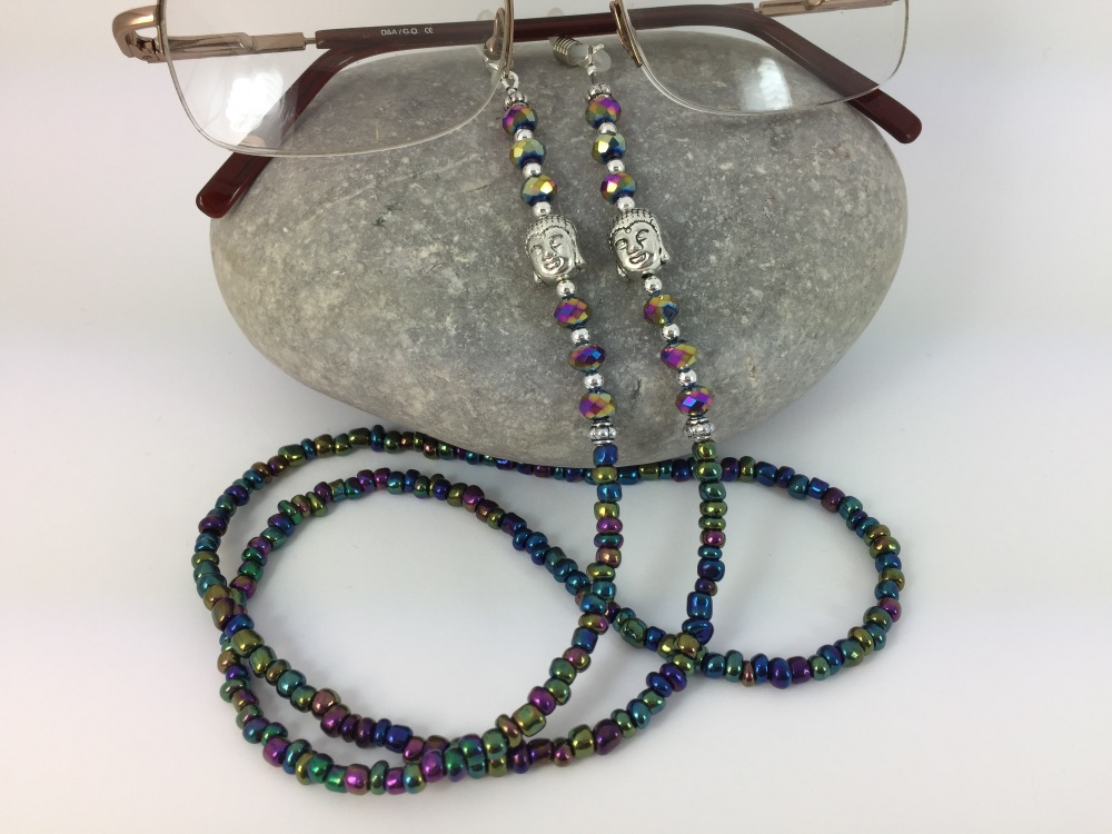 Rainbow Buddha Glasses Chain